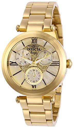 インヴィクタ インビクタ 腕時計 レディース 【送料無料】Invicta Women's Angel Quartz Stainless-Steel Strap, Gold, 18 Casual Watch (Model: 28926)インヴィクタ インビクタ 腕時計 レディース