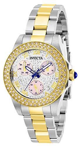 インヴィクタ インビクタ 腕時計 レディース 【送料無料】Invicta Women's Angel Quartz Watch with Stainless Steel Strap, Two Tone, 16 (Model: 28474)インヴィクタ インビクタ 腕時計 レディース