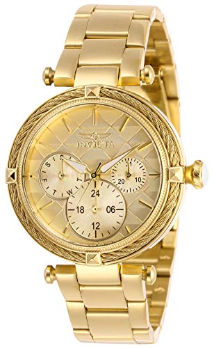 インヴィクタ インビクタ 腕時計 レディース 【送料無料】Invicta Women's Bolt Quartz Stainless-Steel Strap, Gold, 18 Casual Watch (Model: 28957)インヴィクタ インビクタ 腕時計 レディース