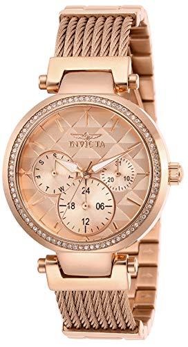 インヴィクタ インビクタ 腕時計 レディース 【送料無料】Invicta Women's Angel Quartz Stainless-Steel Strap, Rose Gold, 18 Casual Watch (Model: 28920)インヴィクタ インビクタ 腕時計 レディース