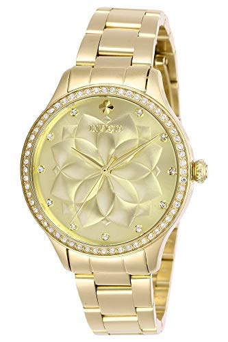 インヴィクタ インビクタ 腕時計 レディース 【送料無料】Invicta Women's Wildflower Quartz Watch with Stainless Steel Strap, Gold, 16 (Model: 28056)インヴィクタ インビクタ 腕時計 レディース