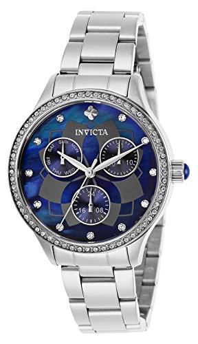 インヴィクタ インビクタ 腕時計 レディース 【送料無料】Invicta Women's Wildflower Quartz Watch with Stainless Steel Strap, Silver, 22 (Model: 29091)インヴィクタ インビクタ 腕時計 レディース