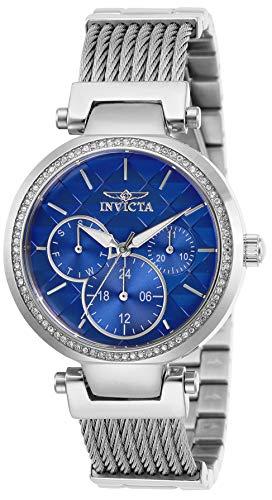 インヴィクタ インビクタ 腕時計 レディース 【送料無料】Invicta Women's Angel Quartz Stainless-Steel Strap, Silver, 18 Casual Watch (Model: 28916)インヴィクタ インビクタ 腕時計 レディース