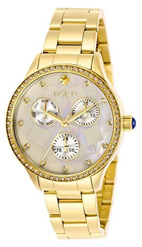 インヴィクタ インビクタ 腕時計 レディース 【送料無料】Invicta Women's Wildflower Quartz Stainless-Steel Strap, Gold, 15.8 Casual Watch (Model: 29093)インヴィクタ インビクタ 腕時計 レディース