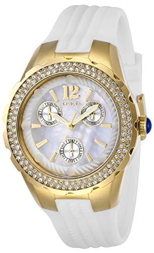 インヴィクタ インビクタ 腕時計 レディース 【送料無料】Invicta Women's Angel Stainless Steel Quartz Watch with Silicone Strap, White, 22 (Model: 29086)インヴィクタ インビクタ 腕時計 レディース