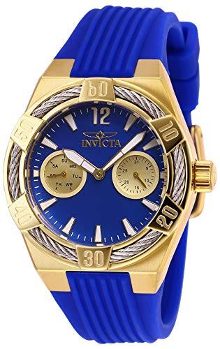インヴィクタ インビクタ 腕時計 レディース 【送料無料】Invicta Women's Bolt Stainless Steel Quartz Watch with Silicone Strap, Blue, 21 (Model: 29196)インヴィクタ インビクタ 腕時計 レディース