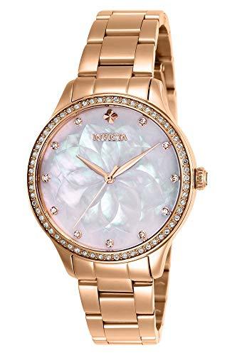 インヴィクタ インビクタ 腕時計 レディース 【送料無料】Invicta Women's Wildflower Quartz Watch with Stainless Steel Strap, Rose Gold, 16 (Model: 28057)インヴィクタ インビクタ 腕時計 レディース
