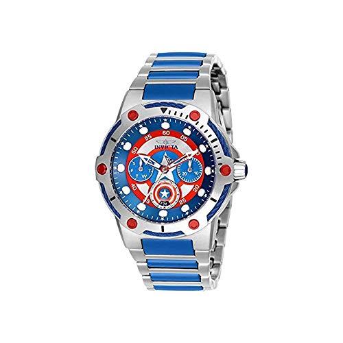 インヴィクタ インビクタ 腕時計 レディース 【送料無料】Invicta Marvel Blue and Red Dial Ladies Watch 26983インヴィクタ インビクタ 腕時計 レディース