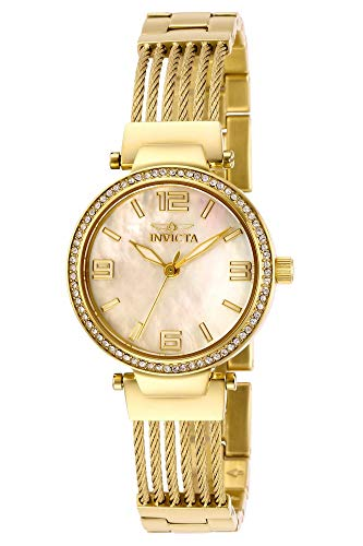 インヴィクタ インビクタ 腕時計 レディース 【送料無料】Invicta Women's Bolt Quartz Watch with Stainless Steel Strap, Gold, 15 (Model: 29143)インヴィクタ インビクタ 腕時計 レディース