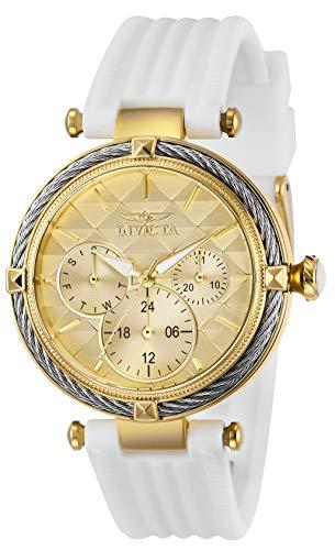 インヴィクタ インビクタ 腕時計 レディース 【送料無料】Invicta Women's Bolt Stainless Steel Quartz Polyurethane Strap, White, 18 Casual Watch (Model: 28966)インヴィクタ インビクタ 腕時計 レディース