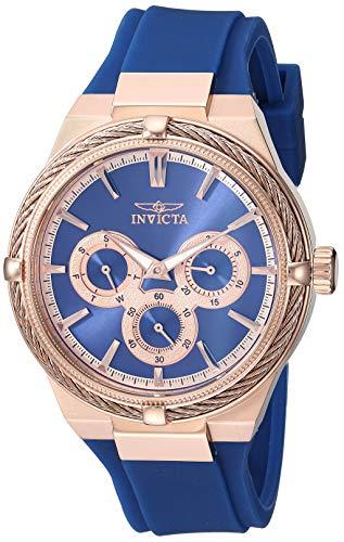 インヴィクタ インビクタ 腕時計 レディース 【送料無料】Invicta Women's Bolt Stainless Steel Analog Quartz Watch with Polyurethane Strap, Blue, 17.2 (Model: 28912)インヴィクタ インビクタ 腕時計 レディース