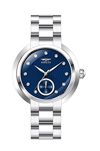 インヴィクタ インビクタ 腕時計 レディース 【送料無料】Invicta Women's Angel Quartz Watch with Stainless Steel Strap, Silver, 16 (Model: 31192)インヴィクタ インビクタ 腕時計 レディース