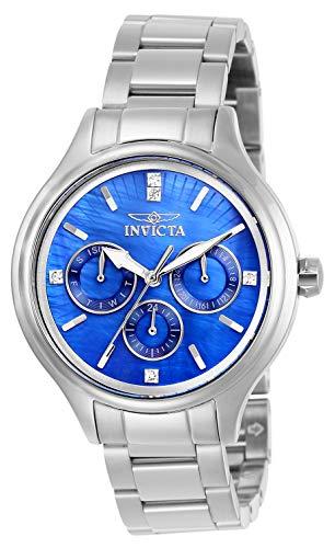 インヴィクタ インビクタ 腕時計 レディース 【送料無料】Invicta Women's Angel Quartz Watch with Stainless Steel Strap, Silver, 16 (Model: 28740)インヴィクタ インビクタ 腕時計 レディース