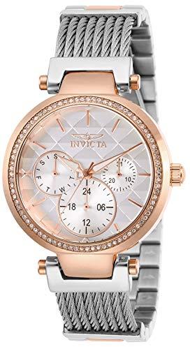 インヴィクタ インビクタ 腕時計 レディース 【送料無料】Invicta Women's Angel Quartz Stainless-Steel Strap, Silver, 18 Casual Watch (Model: 28922)インヴィクタ インビクタ 腕時計 レディース