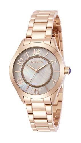 インヴィクタ インビクタ 腕時計 レディース 【送料無料】Invicta Women's Angel Quartz Watch with Stainless Steel Strap, Rose Gold, 16 (Model: 31114)インヴィクタ インビクタ 腕時計 レディース