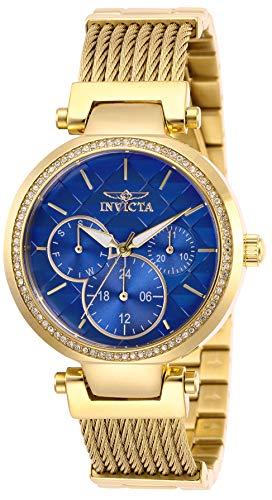 インヴィクタ インビクタ 腕時計 レディース 【送料無料】Invicta Women's Angel Quartz Stainless-Steel Strap, Gold, 18 Casual Watch (Model: 28919)インヴィクタ インビクタ 腕時計 レディース