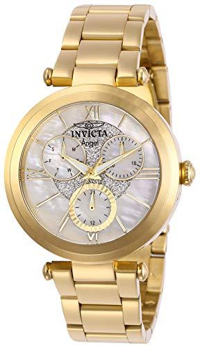 インヴィクタ インビクタ 腕時計 レディース 【送料無料】Invicta Women's Angel Quartz Stainless-Steel Strap, Gold, 18 Casual Watch (Model: 28939)インヴィクタ インビクタ 腕時計 レディース