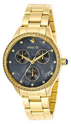 インヴィクタ インビクタ 腕時計 レディース 【送料無料】Invicta Women's Wildflower Quartz Watch with Stainless Steel Strap, Gold, 22 (Model: 29097)インヴィクタ インビクタ 腕時計 レディース