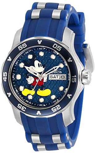 インヴィクタ インビクタ 腕時計 レディース 【送料無料】Invicta Disney Limited Edition Lady 38mm Stainless Steel Blue dial Quartz, 30713インヴィクタ インビクタ 腕時計 レディース