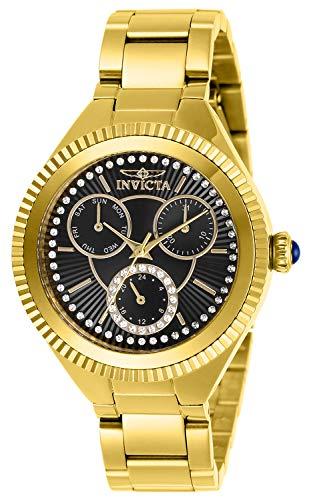 インヴィクタ インビクタ 腕時計 レディース 【送料無料】Invicta Women's Angel Quartz Stainless-Steel Strap, Gold, 16 Casual Watch (Model: 28348)インヴィクタ インビクタ 腕時計 レディース