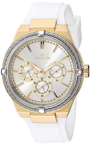 インヴィクタ インビクタ 腕時計 レディース 【送料無料】Invicta Women's Bolt Stainless Steel Analog Quartz Watch with Polyurethane Strap, White, 17.2 (Model: 28913)インヴィクタ インビクタ 腕時計 レディース