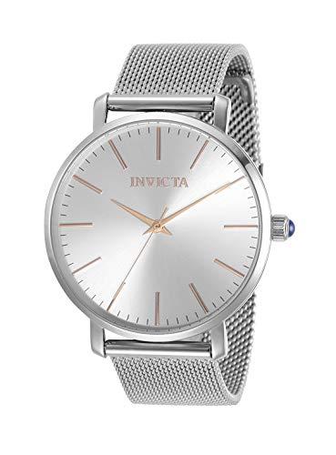 インヴィクタ インビクタ 腕時計 レディース 【送料無料】Invicta Women's Angel Quartz Watch with Stainless Steel Strap, Silver, 18 (Model: 31068)インヴィクタ インビクタ 腕時計 レディース