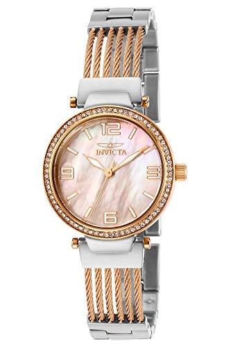 インヴィクタ インビクタ 腕時計 レディース 【送料無料】Invicta Women's Bolt Quartz Watch with Stainless Steel Strap, Two Tone, 15 (Model: 29142)インヴィクタ インビクタ 腕時計 レディース