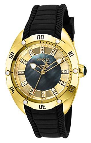インヴィクタ インビクタ 腕時計 レディース 【送料無料】Invicta Women's Venom Stainless Steel Quartz Watch with Silicone Strap, Black, 20 (Model: 29006)インヴィクタ インビクタ 腕時計 レディース