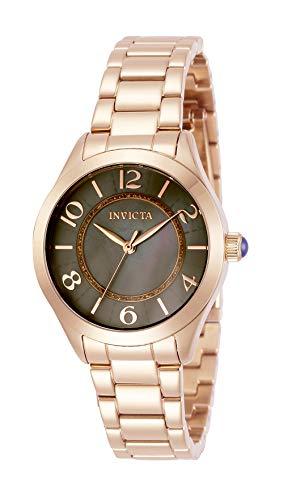 インヴィクタ インビクタ 腕時計 レディース 【送料無料】Invicta Women's Angel Quartz Watch with Stainless Steel Strap, Rose Gold, 16 (Model: 31113)インヴィクタ インビクタ 腕時計 レディース