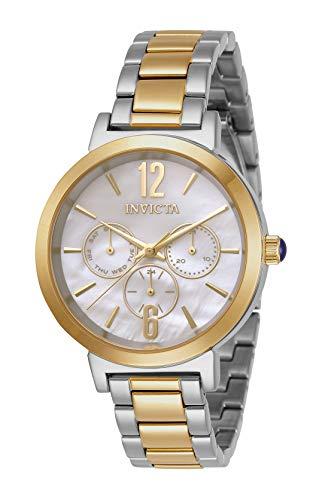 インヴィクタ インビクタ 腕時計 レディース 【送料無料】Invicta Women's Angel Quartz Watch with Stainless Steel Strap, Two Tone, 15 (Model: 31086)インヴィクタ インビクタ 腕時計 レディース
