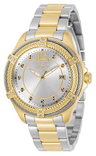 インヴィクタ インビクタ 腕時計 レディース 【送料無料】Invicta Women's Bolt Quartz Watch with Stainless Steel Strap, Two Tone, 18 (Model: 30882)インヴィクタ インビクタ 腕時計 レディース
