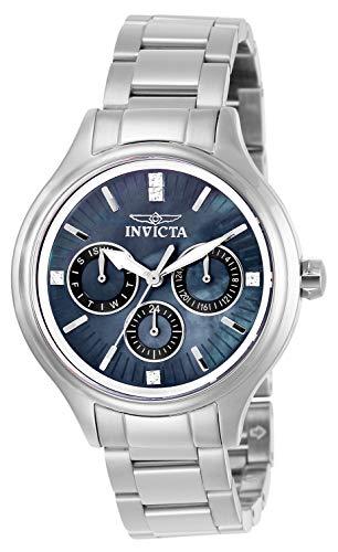 インヴィクタ インビクタ 腕時計 レディース 【送料無料】Invicta Women's Angel Analog Quartz Watch with Stainless Steel Strap, Silver, 16 (Model: 28739)インヴィクタ インビクタ 腕時計 レディース