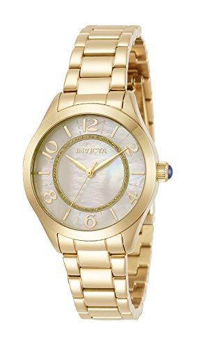 インヴィクタ インビクタ 腕時計 レディース 【送料無料】Invicta Women's Angel Quartz Watch with Stainless Steel Strap, Gold, 16 (Model: 31104)インヴィクタ インビクタ 腕時計 レディース