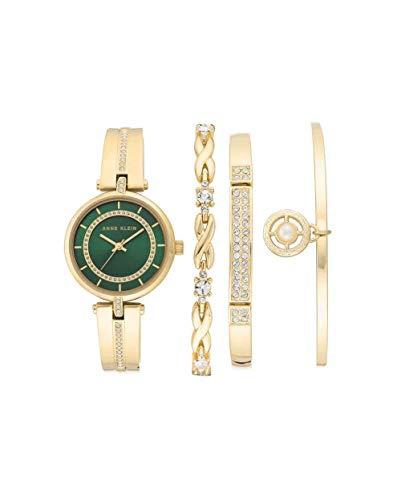 アンクライン 腕時計 レディース 【送料無料】Anne Klein Quartz Ladies Watch and Bracelet Set AK/3426GNSTアンクライン 腕時計 レディース
