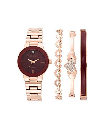 アンクライン 腕時計 レディース 【送料無料】Anne Klein Quartz Ladies Watch and Bracelet Set AK/3382BRSTアンクライン 腕時計 レディース