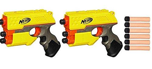 ナーフ エヌストライク アメリカ 直輸入 エリート 33349 【送料無料】Nerf N Strike Scout Ix-3 2-pack with 12 Whistler Dartsナーフ エヌストライク アメリカ 直輸入 エリート 33349