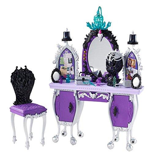エバーアフターハイ 人形 ドール BDB17 Ever After High Getting Fairest Raven Queen Destiny Vanity Accessoryエバーアフターハイ 人形 ドール BDB17