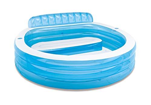 プール ビニールプール ファミリープール オーバルプール 家庭用プール 57190EP 【送料無料】Intex Swim Center Inflatable Family Lounge Pool, 90