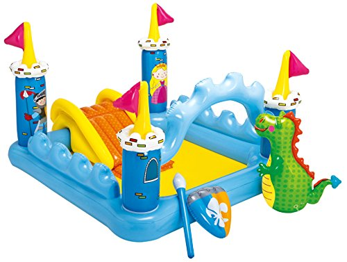 プール ビニールプール ファミリープール オーバルプール 家庭用プール 57138EP Intex Fantasy Castle Inflatable Play Center, 73