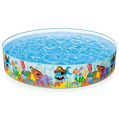 プール ビニールプール ファミリープール オーバルプール 家庭用プール 56453EP Intex Ocean Reef Snapset Inflatable Pool, 8' X 18