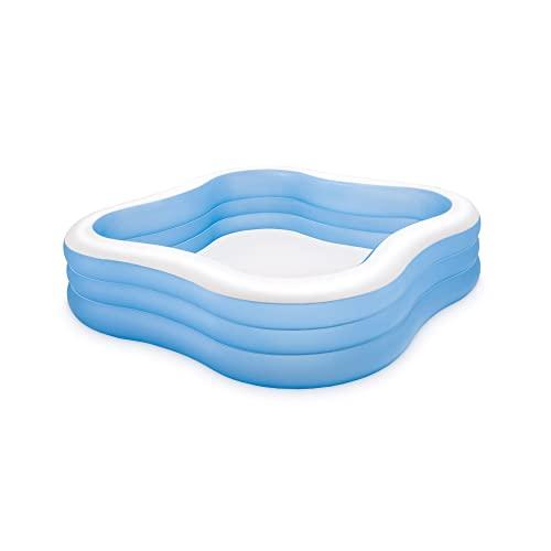 プール ビニールプール ファミリープール オーバルプール 家庭用プール 57495EP Intex Swim Center Family Inflatable Pool, 90