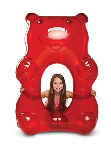 プール ビニールプール ファミリープール オーバルプール 家庭用プール BMPF-GBR BigMouth Inc Giant Red Gummy Bear Pool Float, 5 Feet Long, Funny Inflatable Vinyl Summer Pool or Bプール ビニールプール ファミリープール オーバルプール 家庭用プール BMPF-GBR