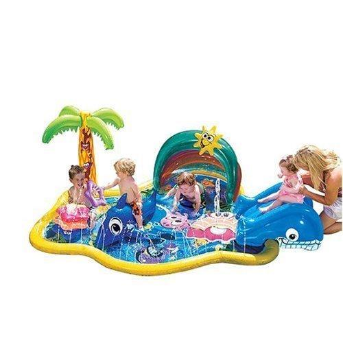 プール ビニールプール ファミリープール オーバルプール 家庭用プール Six Flags My First Splish Splash Poolプール ビニールプール ファミリープール オーバルプール 家庭用プール