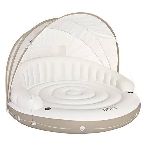 フロート プール 水遊び 浮き輪 58292EP Intex Canopy Island Inflatable Lounge, 78
