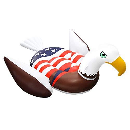 フロート プール 水遊び 浮き輪 Giant Rideable Patriotic American Bald Eagle Inflatable Swimming Pool Floatフロート プール 水遊び 浮き輪
