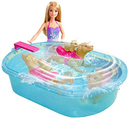 バービー バービー人形 日本未発売 プレイセット アクセサリ DMC32 Barbie Swimmin' Pup Pool Setバービー バービー人形 日本未発売 プレイセット アクセサリ DMC32