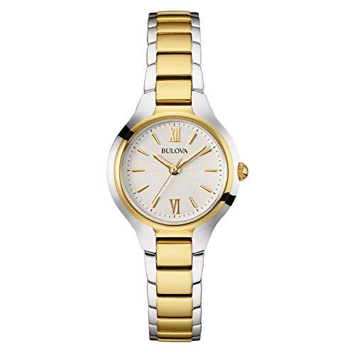 ブローバ 腕時計 レディース 98L217 【送料無料】Bulova Women's 98L217 Analog Display Quartz Two Tone Watchブローバ 腕時計 レディース 98L217