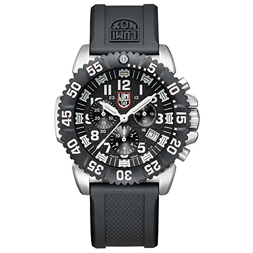 ルミノックス アメリカ海軍SEAL部隊 ミリタリーウォッチ 腕時計 メンズ 【送料無料】Luminox Mens Chronograph Quartz Connected Wrist Watch with PU Strap XS.3181.Lルミノックス アメリカ海軍SEAL部隊 ミリタリーウォッチ 腕時計 メンズ