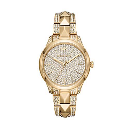 マイケルコース 腕時計 レディース マイケル・コース アメリカ直輸入 【送料無料】Michael Kors Women's Runway Mercer Quartz Watch with Stainless Steel Strap, Gold, 18 (Model: MK6715)マイケルコース 腕時計 レディース マイケル・コース アメリカ直輸入