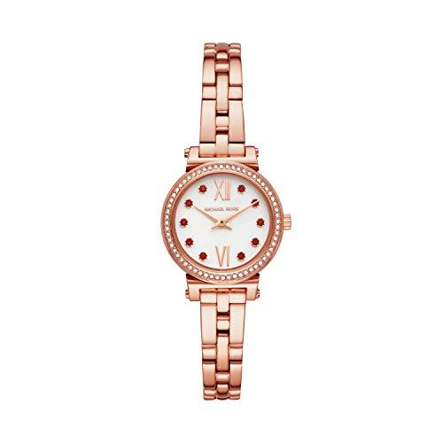 マイケルコース 腕時計 レディース マイケル・コース アメリカ直輸入 【送料無料】Michael Kors Women's Sofie Quartz Watch with Stainless Steel Strap, Rose Gold, 16 (Model: MK4465)マイケルコース 腕時計 レディース マイケル・コース アメリカ直輸入